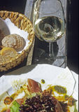 Food and wine Royalty Free Stock Images