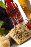 Food and wine Royalty Free Stock Image