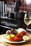 Food and wine royalty free stock photography