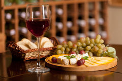 Food and wine Stock Image