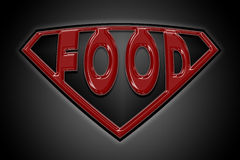 Food written Royalty Free Stock Images