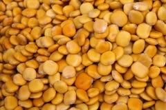 Food. Yellow fresh lupin beans. Stock Image