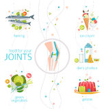 Food for your joints Stock Photography