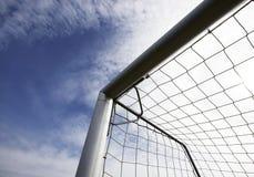 foodball ποδόσφαιρο στόχου Στοκ φωτογραφίες με δικαίωμα ελεύθερης χρήσης