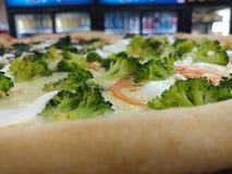 Foodcloseup de la pizza Imágenes de archivo libres de regalías