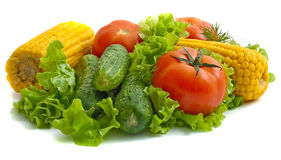 Foodgroup: vegetais Imagens de Stock