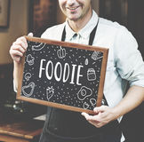Foodie Gourmet Cuisine Eat Meals Concept Royalty Free Stock Images