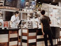 foodman da vida do suki Imagens de Stock