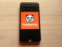 Foodpanda στοκ εικόνες