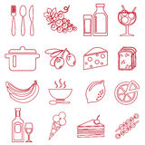 FoodRed Fotografie Stock