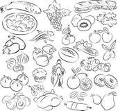Foods ilustracja wektor