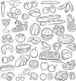 Foods Zdjęcia Stock