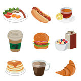 Foods and beverage icon Royalty Free Stock Photo
