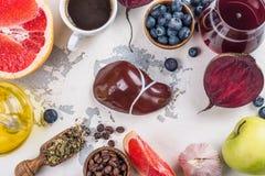 Foods för sund lever royaltyfri foto