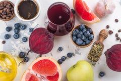 Foods för sund lever arkivfoton