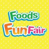Foods Fun Fair Stock Image