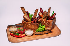 Foods,meen,sous,tasty,beautiful,restoran,cafe,beef,pig,fust Royalty Free Stock Photo