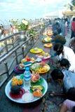 Foods offering for Kyaiktiyo Pagoda,Myanmar. Royalty Free Stock Photos