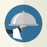 Foods Service icon. Royalty Free Stock Photo