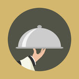Foods Service icon. Royalty Free Stock Photography