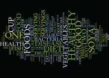 Foods To Fight Disease Text Background  Word Cloud Concept Royalty Free Stock Image