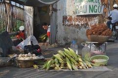 Foodseller Stock Afbeeldingen