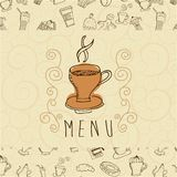 Foodstuff design Stock Image