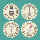 Foodstuff Design Royalty Free Stock Photos