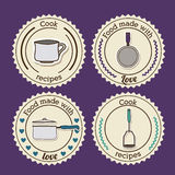 Foodstuff Design Stock Images