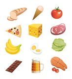 Foodstuffs Stock Photos