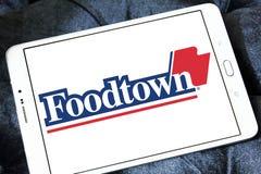 Foodtown超级市场合作社商标 图库摄影
