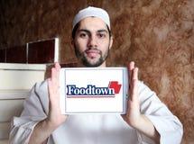 Foodtown超级市场合作社商标 库存图片