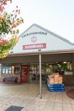 Foodworks supermarket in Yackandandah in the Shire of Indigo. Yackandandah, Australia - April 30, 2018: Foodworks supermarket in the small town of Yackandandah stock photo
