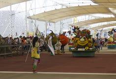 Foody daily Parade at Expo 2015 Stock Photography