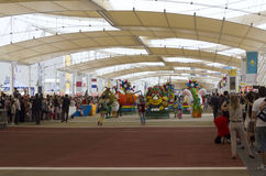 Foodyparade in Expo 2015 Stock Afbeelding
