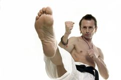 Fook kick Stock Photo