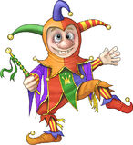 Fool. An illustration featuring a court jester