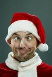 Fool of Santa Stock Photo