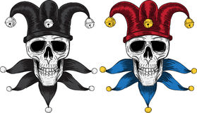 The Fool Skull. Vector for your design vector illustration