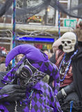 Foolish Mardi Gras Mascarade Stock Photo