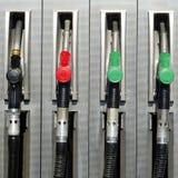 Petrol eller bensinstation arkivfoton