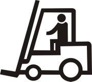foorklift ciężarówka. Obrazy Royalty Free
