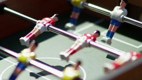 foosball Αόρατο παίζοντας επιτραπέζιο ποδόσφαιρο Άγνωστο παιχνίδι foosball φιλμ μικρού μήκους