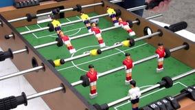 Foosball stock footage