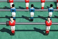 Foosball. calcio della tabella immagini stock