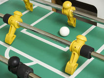 Foosball close-up Stock Images