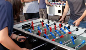 Foosball Competition Stock Images