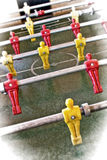 Foosball entertaining Stock Photo