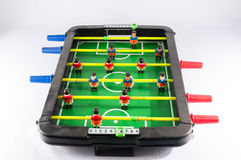 Foosball Football Toy Game Stock Photo