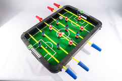 Foosball Football Toy Game Stock Image